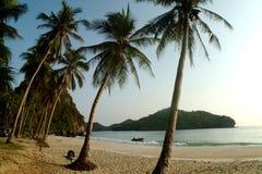 Beach on Ang Thong Natinal park Stock Images