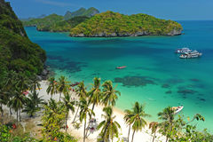 A Beach of Angthong National Park Stock Image