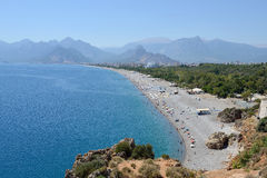 Beach of Antalya, Turkey Stock Photography