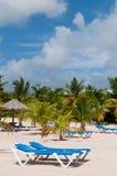 Beach in Antigua Stock Photo
