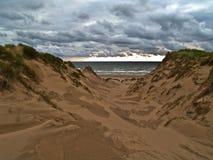 Beach Approach (1) Royalty Free Stock Photos