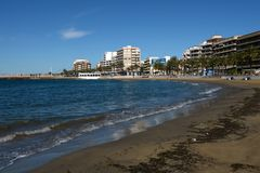 The beach area in Torrevieja Royalty Free Stock Photos
