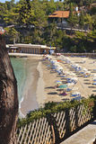 Beach at Argostoli of Kefalonia in Greece Stock Photos