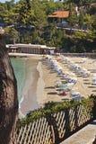 Beach at Argostoli of Kefalonia in Greece Stock Photos