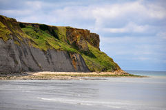 Beach of Arromanches in France Royalty Free Stock Photography