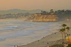 Free Beach At Sunset, California Stock Photography - 18038912