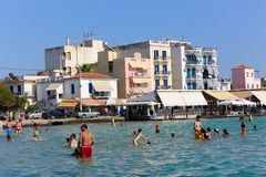 Beach in athens , Greece Royalty Free Stock Images