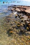 Beach in athens , Greece Stock Photos