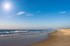 Beach, Atlantic ocean coast Royalty Free Stock Photography