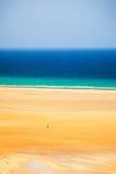 Beach on Atlantic ocean coast Royalty Free Stock Image