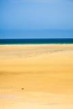 Beach on Atlantic ocean coast Stock Photo