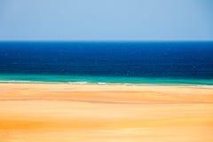Beach on Atlantic ocean coast Stock Image
