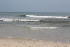 Beach. At the Atlantic ocean in ocean city Maryland usa Stock Photo