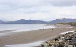 Beach on the Atlantic Ocean. Stock Photo