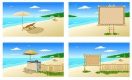 Beach atmosphere (furniture) 1 Stock Image