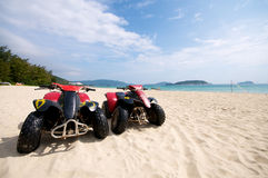 Beach ATV Royalty Free Stock Photography
