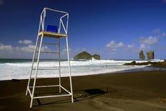 Beach, Azores islands stock photos