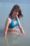 Beach babe Royalty Free Stock Image