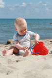Beach baby Stock Photo