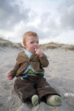 Beach baby Royalty Free Stock Images