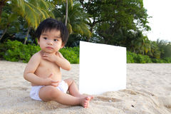Beach baby Royalty Free Stock Photography