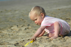 Beach Baby Royalty Free Stock Image