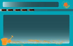 Beach Background. Royalty Free Stock Photography