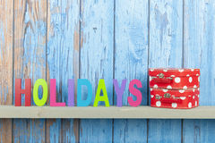 Beach background for holidays Stock Images