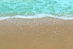 The beach for background. The beach sand wave for background Royalty Free Stock Image