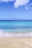 Beach background scene in summer on vacation Royalty Free Stock Photography