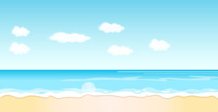 Beach Background Stock Photos