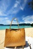Beach bag Stock Photos