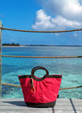 Beach bag Royalty Free Stock Photos