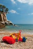 Beach bags Royalty Free Stock Photos