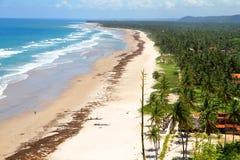 Beach of Bahia Stock Photo