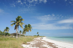 Beach at Bahia Honda Key Royalty Free Stock Photo