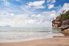 Beach at Bako national park Borneo Stock Images