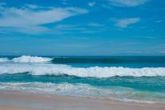 The Beach Balangan, Indonesia, Bali Royalty Free Stock Photos
