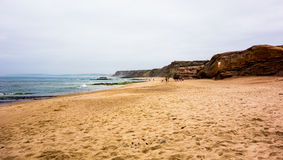 Beach in Baleal Stock Images