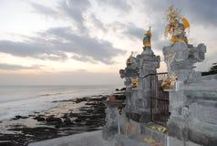 Bali Tanah lot. Bali beach from Indonesia kata lot ocean seaview tanahlot temple travel view Royalty Free Stock Photography