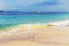 Beach on Bali Royalty Free Stock Photos