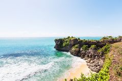 Beach on Bali Royalty Free Stock Images
