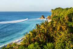 Beach on Bali Royalty Free Stock Photography