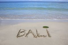 Beach of Bali Stock Photos