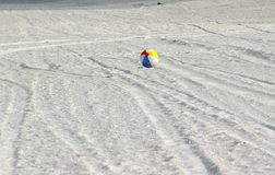 Beach Ball. Photographed at Indian Rocks Beach, Indian Rocks Florida Royalty Free Stock Photos