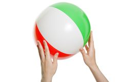 Beach ball Royalty Free Stock Images