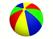Beach ball . Stock Image