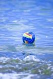 Beach ball. On a sea Stock Image