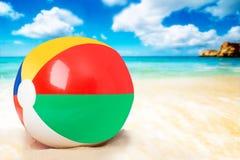Beach ball Immagine Stock Libera da Diritti