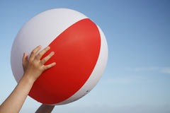 Beach ball. Stock Photos
